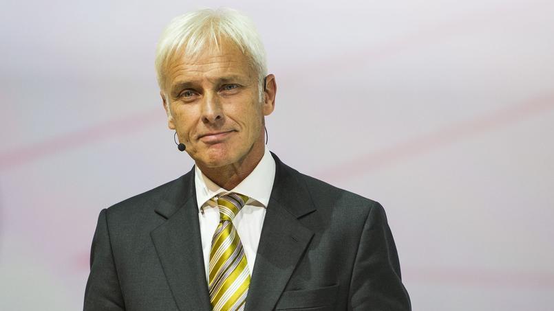 Le directeur général de Volkswagen, Matthias Müller