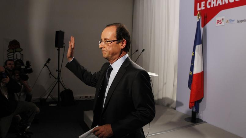 François Hollande en 2011, lors de la primaire de la gauche