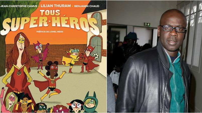 Lilian Thuram vient de publier la bande dessinée «Tous super-héros».
