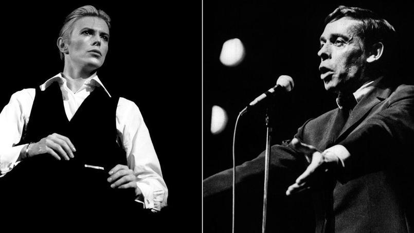 David Bowie a chanté Amsterdam de Jacques Brel, Satellite of love, de Lou Reed, ou encore Dancing in the street avec Mick Jagger.