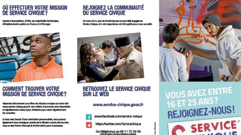 «Le service civique devra accueillir la moitié d'une classe d'âge, soit 350.000 jeunes par an environ», indiqué François Hollande. Crédits photo: service-civique.gouv.fr