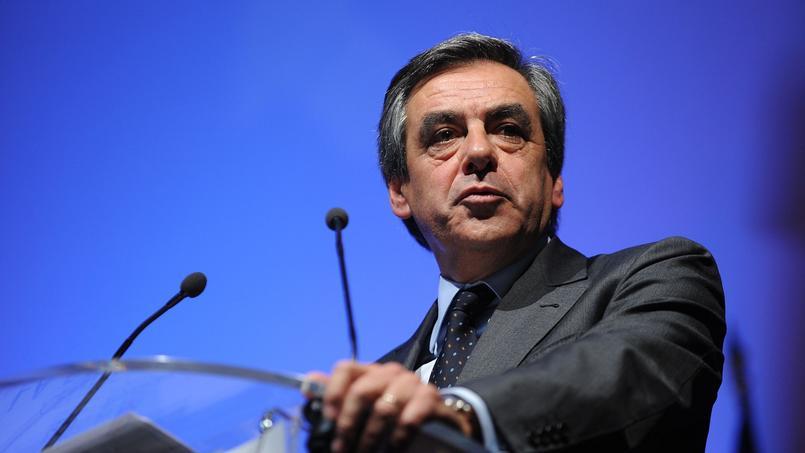 François Fillon, lors d'un meeting pour les élections régionales.