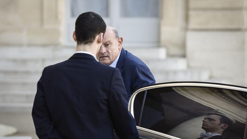 Jean-Marie Le Guen, le secrétaire d'État chargé des relations avec le Parlement, à l'Élysée.
