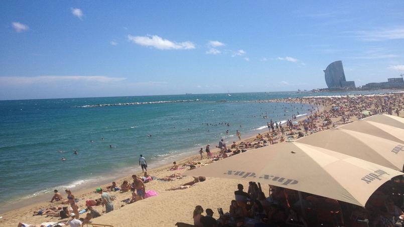 La plage de Barcelone pour se détendre et profiter de la douceur des lieux.
