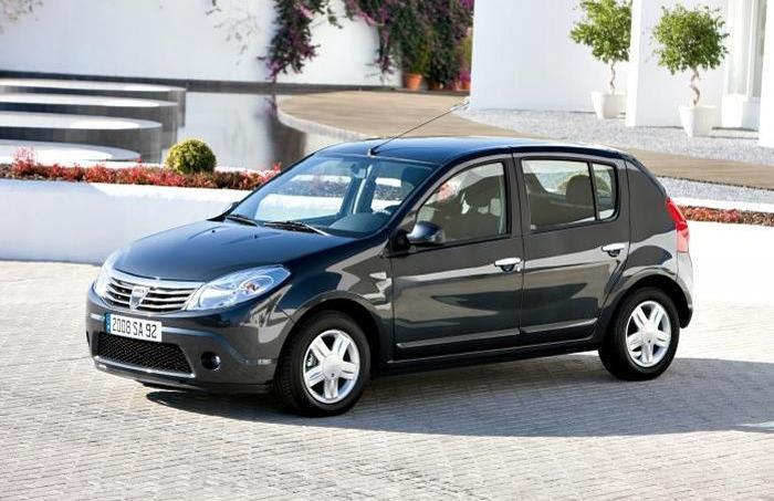 La Dacia Sandero remporte la palme du véhicule le moins onéreux à faire rouler. © Daciagroup.com/ Dacia
