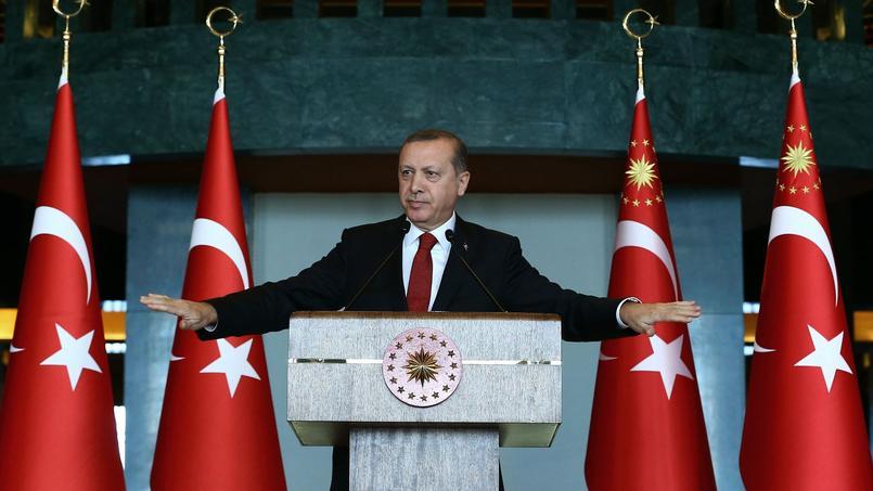 Le président turc Recep Tayyip Erdoğan.