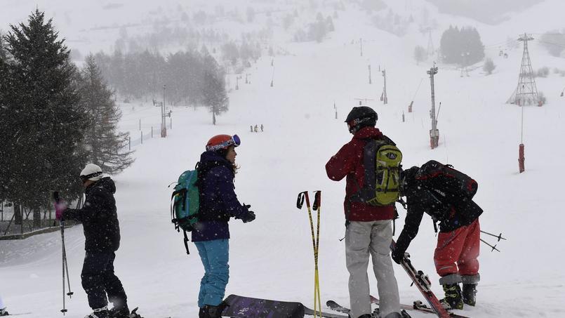 Les Deux Alpes, le 14 janvier.