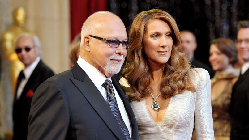René Angélil et son épouse Céline Dion