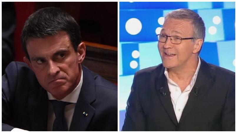 Manuel valls on n 39 est pas couch ou le premier ministre dans la bande ruquier - Manuel valls on n est pas couche ...
