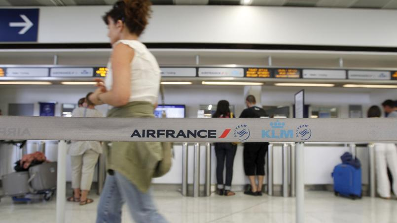 Le CCE pourrait renouer le dialogue social chez Air France. Crédits photo: Le figaro