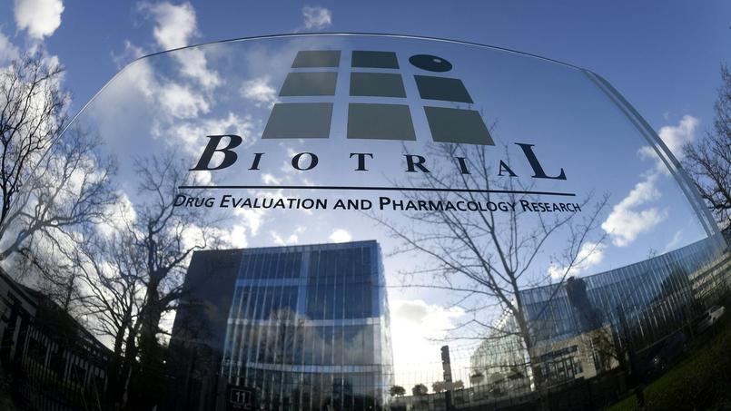 Le site rennais du groupe Biotrial se situe à deux pas du CHU de Pontchaillou. Crédits photo: DAMIEN MEYER/AFP