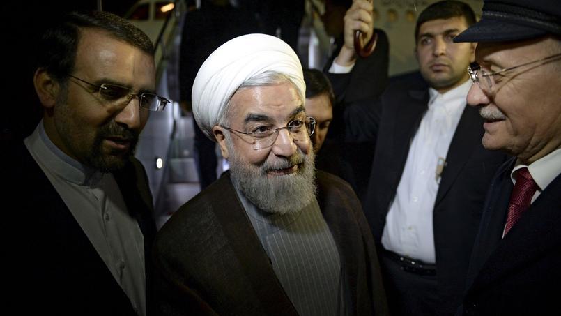 À quarante jours des élections législatives, cette levée des sanctions est un sérieux coup de pouce donné à Hassan Rohani.