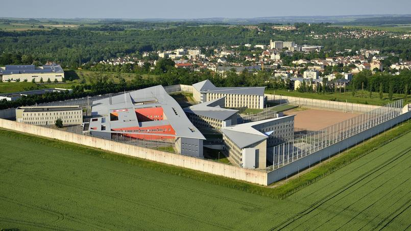 Prison de Meaux-Chauconin, en Seine-et-Marne.