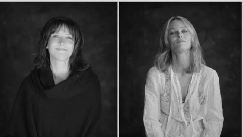 Sophie Marceau et Vanessa Paradis interprètent Liberté de Paul Eluard pour le nouvel hymne 2016 des Enfoirés.