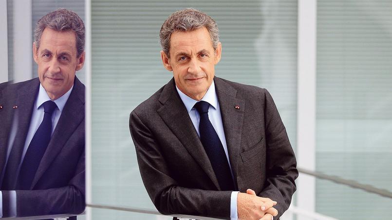 Nicolas Sarkozy, au siège de son parti, en septembre, à Paris.