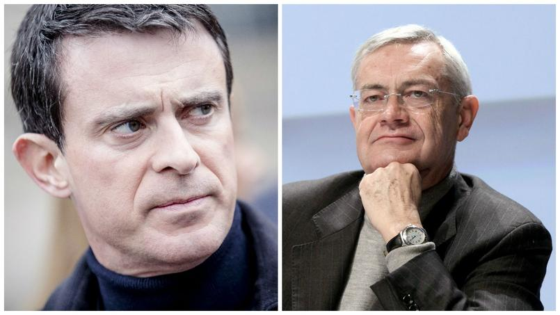 Manuel Valls/Jean-Louis Bianco