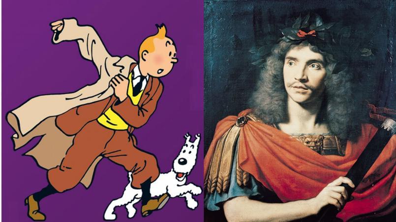 France Culture a confié à la troupe de la Comédie-Française le soin de raconter et de jouer une Aventure de Tintin, Les cigares du Pharaon, à la radio dès le 8 février prochain.