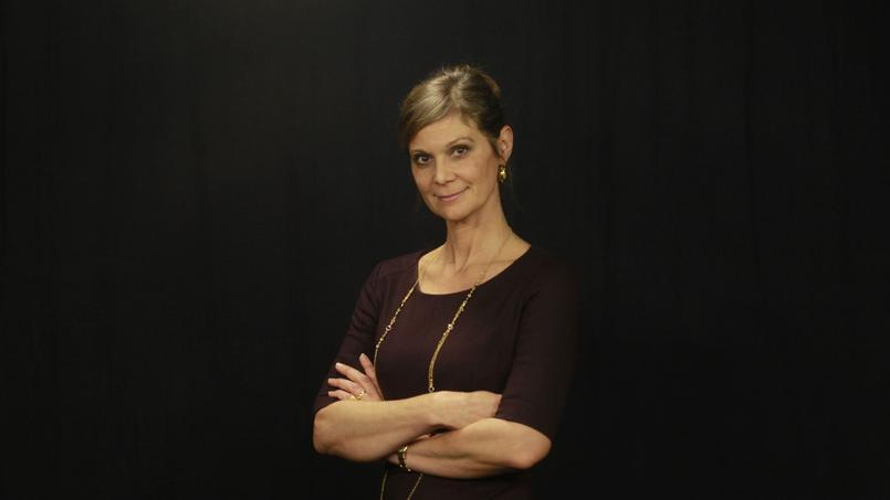 Aurore Domont, présidente de la nouvelle régie publicitaire du Figaro, MEDIA.Figaro, qui regroupe les médias print et Web du Figaro et de CCM Benchmark.