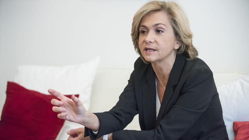 La présidente LR de la région Île-de-France, Valérie Pécresse