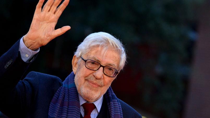 Ettore Scola, le 18 octobre à Rome (Italie).