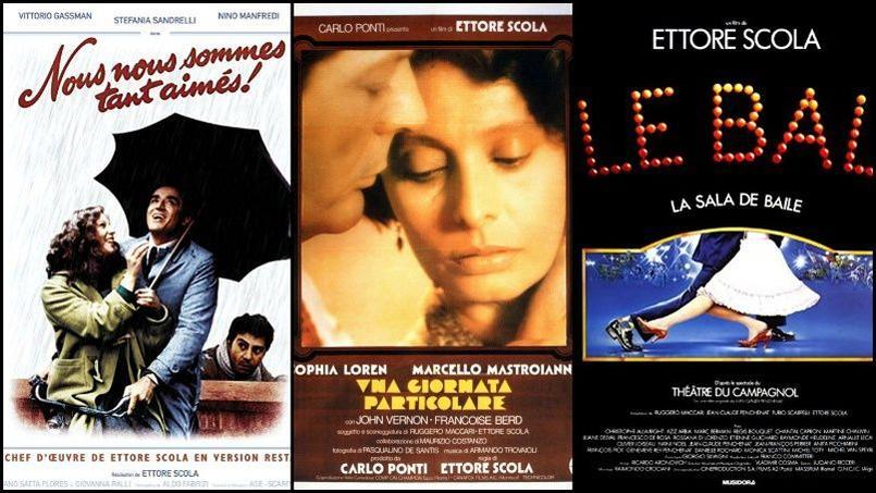 En quarante ans de carrière, le réalisateur Ettore Scola a mis en scène près d'une quarantaine de films.