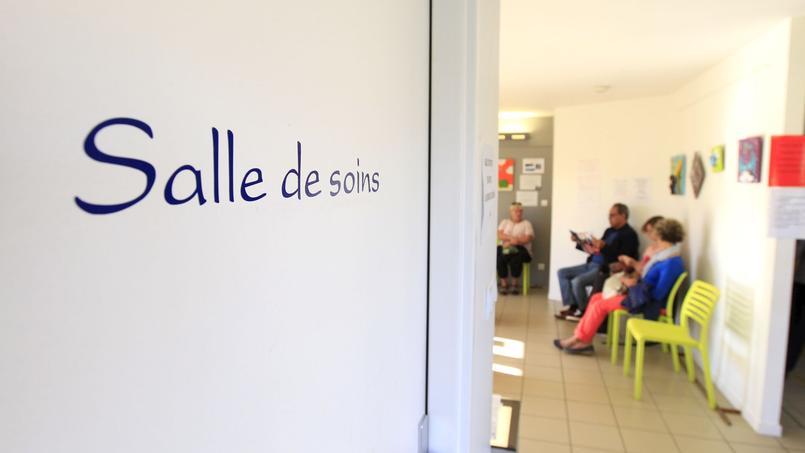 Une maison médicale en Saône-et-Loire.