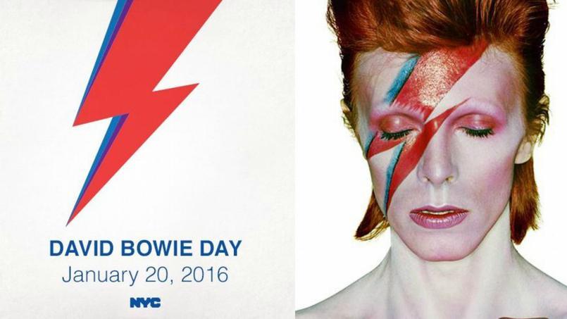 Le 20 janvier a été officialisée «journée David Bowie» par la ville de New York.