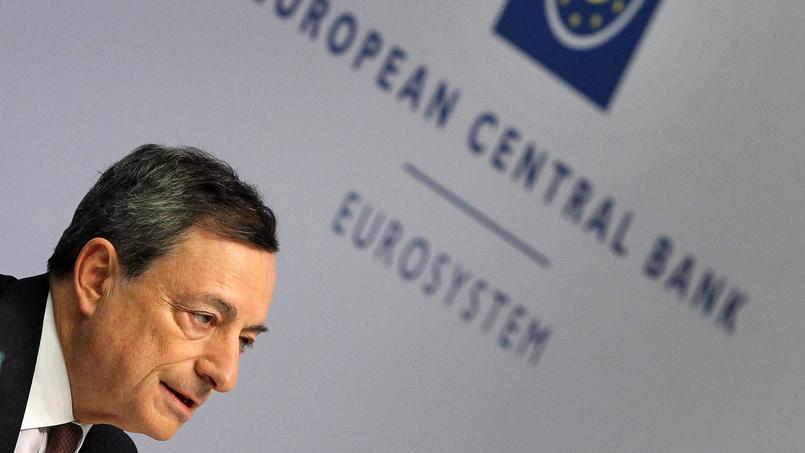 Le président de la BCE, jeudi 21 novembre lors de sa conférence de presse à Francfort