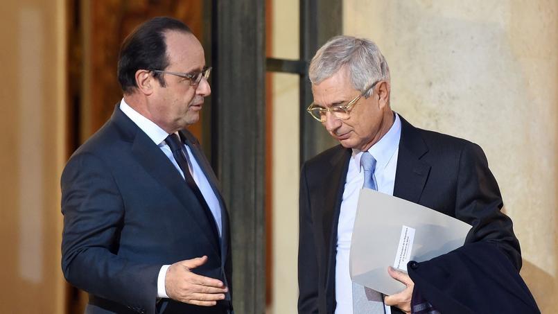 François Hollande et Claude Bartolone à l'Élysée, le 20 janvier 2016.