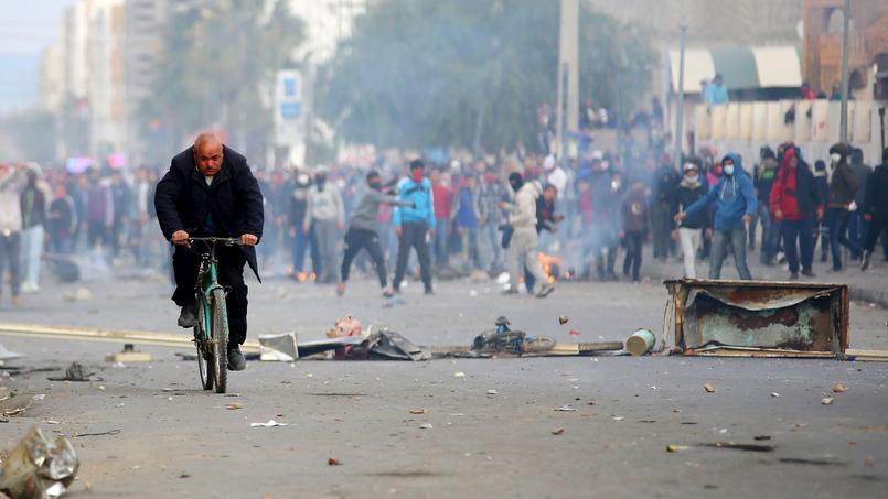 La situation économique à l'origine des troubles en Tunisie