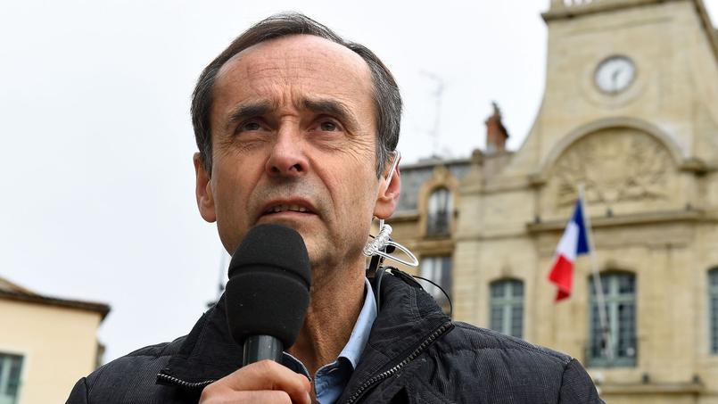 Le maire de Béziers, Robert Ménard.