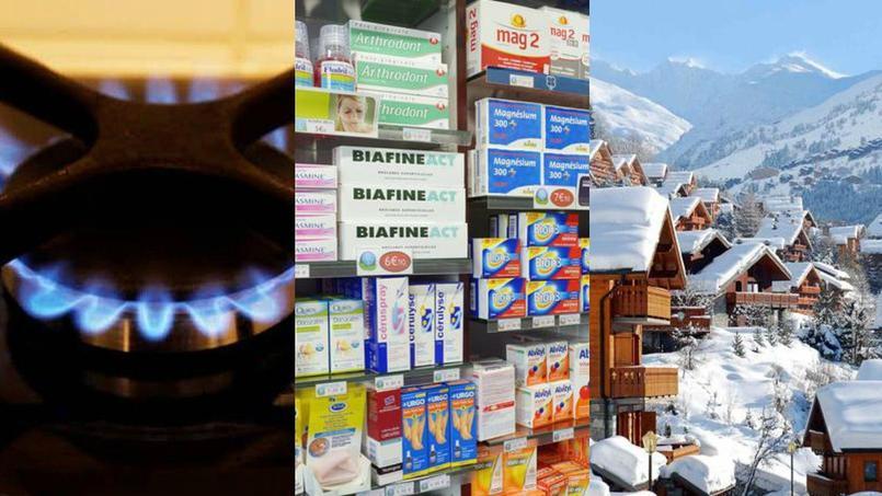 Gaz, automédication et ski : le récap conso de la semaine