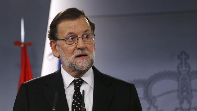 Le chef du Parti populaire et président sortant Mariano Rajoy