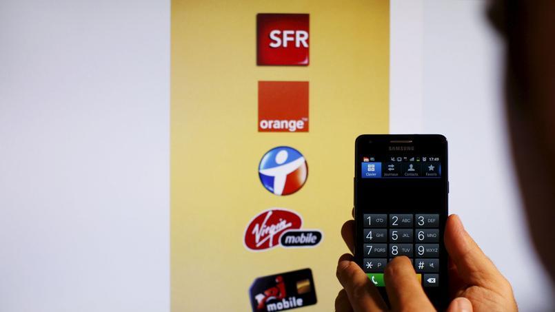 Les changements d'opérateurs de téléphonie mobile ont atteint un niveau considérable en décembre 2015. Crédits photo: Jean-Christophe MARMARA / Le Figaro