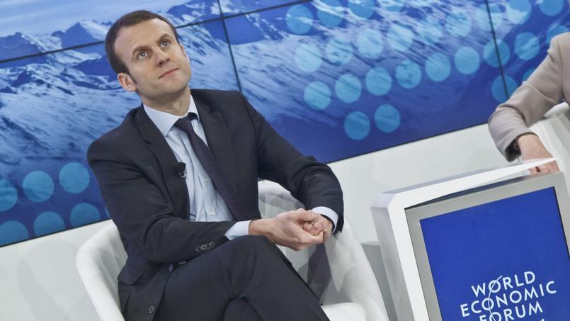 La folle journée d'Emmanuel Macron à Davos
