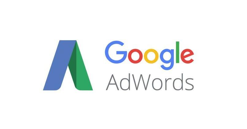 Logo de la régie publicitaire de Google, Google AdWords.