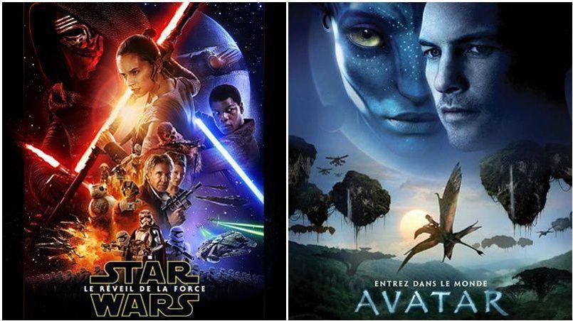 Entre Avatar et Star Wars, les hostilités sont (encore) lancées.