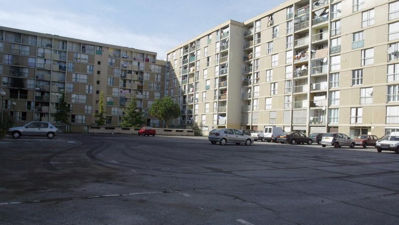 Photo du quartier populaire de l'Ariane, à Nice.