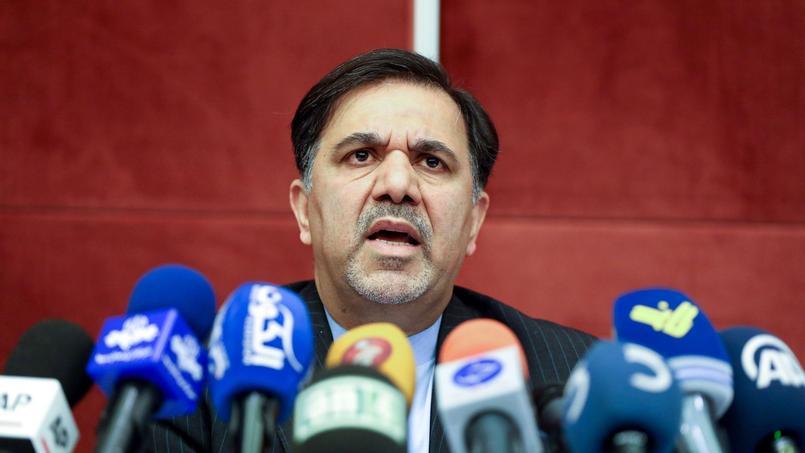 Abbas Akhoundi, ministre iranien des Transports.
