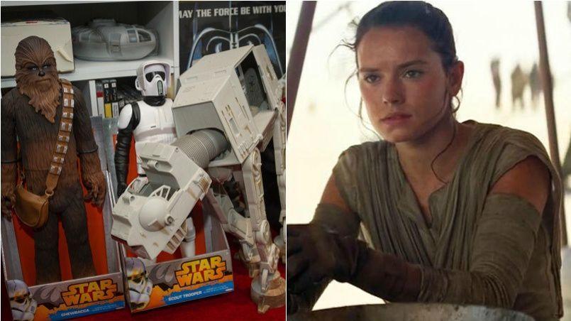 Les studios Disney auraient allègrement fait disparaître le personnage de Rey des produits dérivés de la saga Star Wars.