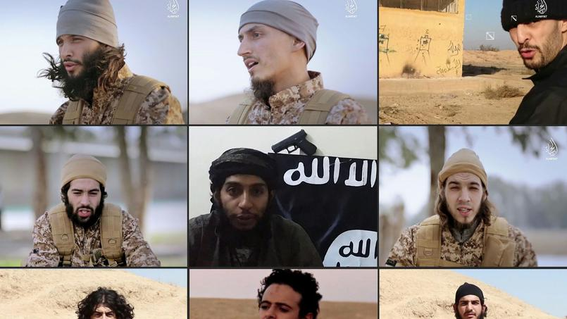 Une vidéo de propagande de l'Etat islamique montre les terroristes qui ont participé aux attentats de Paris le 13 novembre dernier.