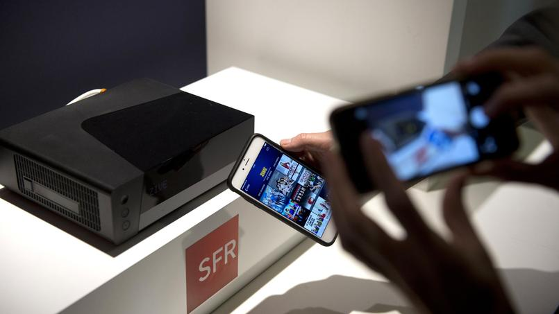 La box Fibre de SFR présentée en novembre.
