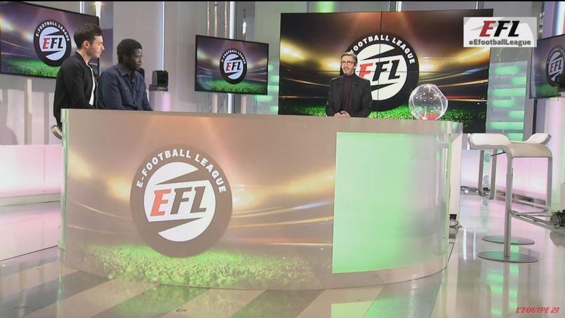 L'e-Football League est diffusée le vendredi soir à 20h45 sur l'Equipe 21.
