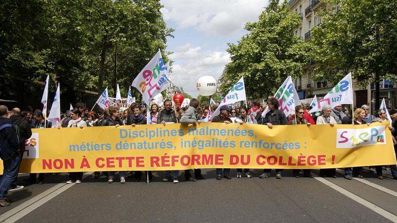 Plus d'un professeur sur cinq en grève dans les collèges