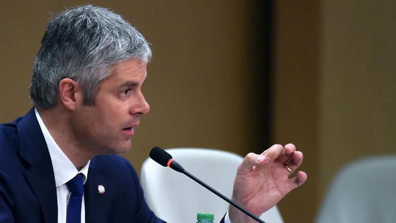 Laurent Wauquiez, le 4 janvier.