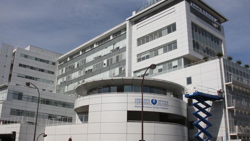 L'hôpital Pompidou à Paris.