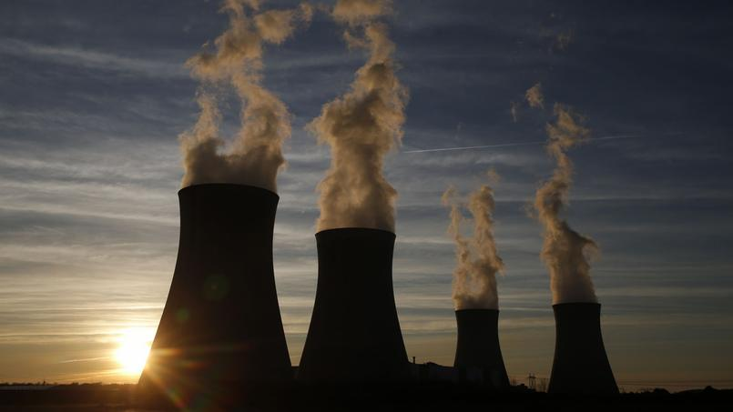 L'usine nucléaire de Dampierre-en-Burly,le 8 mars 2015.
