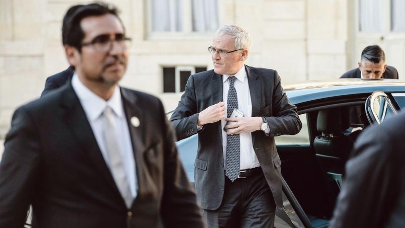 Jean-Bernard Lévy, le PDG d'EDF, à l'Élysée, en juin 2015.