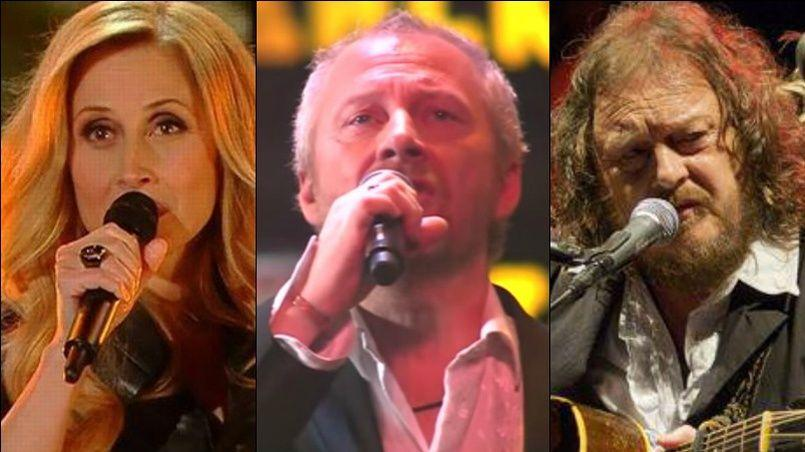 Lara Fabian, Zucchero ont chanté le célèbre tube Wonderful life de Black.