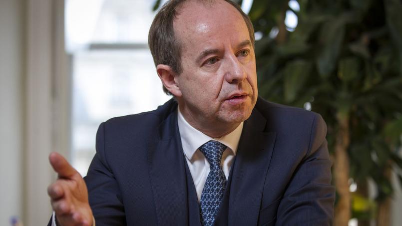 Jean-Jacques Urvoas dans son bureau, le 15 janvier 2015.